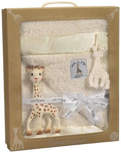 Подарочный набор Vulli Жираф Софи с покрывалом (4)