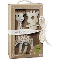 Набор подарочный Vulli Игрушка жираф и жевательная резиновая пустышка