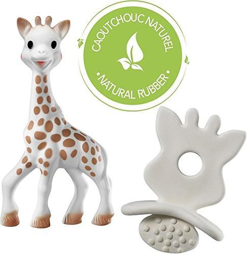 Набор подарочный Vulli Игрушка жираф и жевательная резиновая пустышка (5)