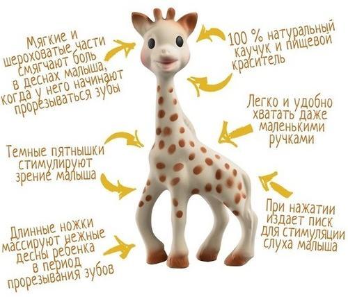 Игрушка Vulli Sophie la girafe 100% каучук в подарочной упаковке (9)