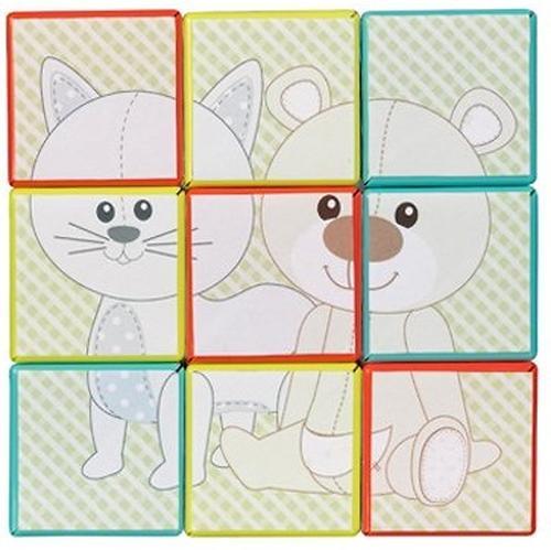 Кубики-Головоломка Vulli Жираф Софи (8)