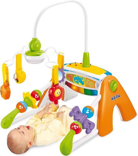 Многофункциональный развивающий центр для малыша Weina 4в1 (9)