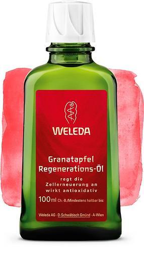 Гранатовое восстанавливающее масло Weleda для тела 100 мл (1)