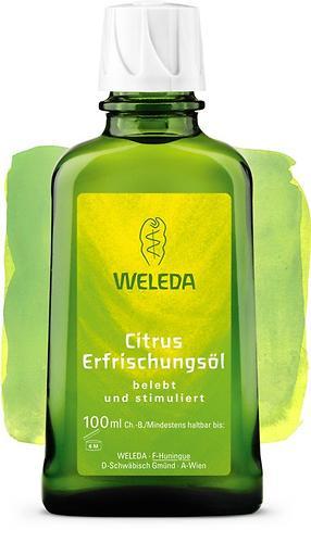 Цитрусовое освежающее масло Weleda для тела 100 мл (1)