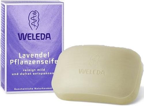 Лавандовое растительное мыло Weleda 100гр (1)