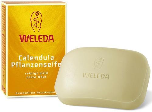 Растительное детское мыло Weleda с календулой 100 г (1)