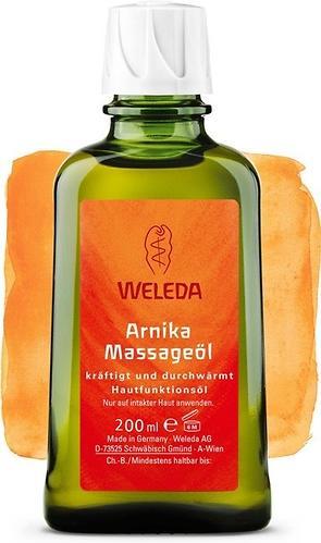 Массажное масло Weleda с арникой 200 мл (1)