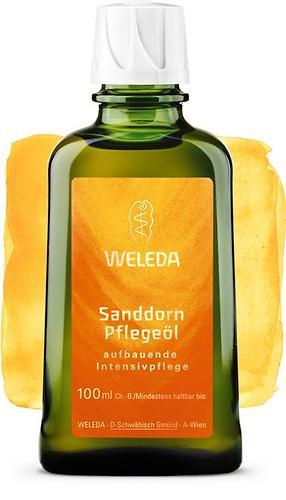 Облепиховое питательное масло Weleda для тела 100мл (1)