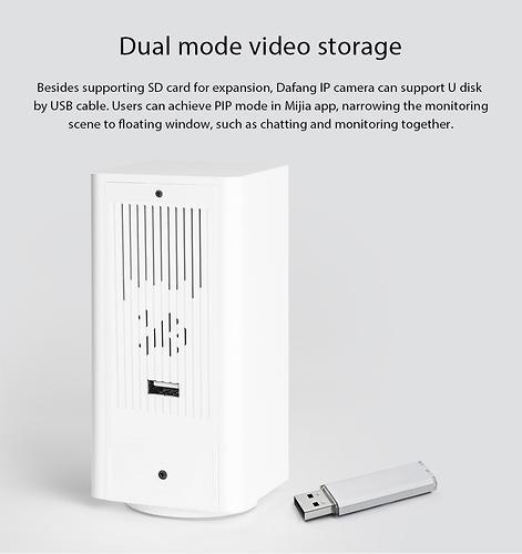 Поворотная Wi Fi камера видеонаблюдения Xiaomi Mijia Dafang 1080p Smart IP (7)