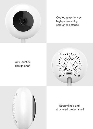 Wi-Fi камера видеонаблюдения Xiaomi CHUANGMI 720P Smart IP (10)