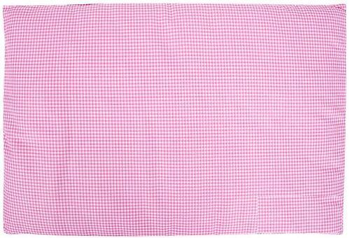 Подушка Зайка моя Клетка Розовая бязь (3)