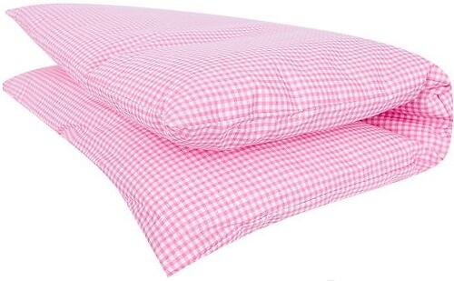 Подушка Зайка моя Клетка Розовая бязь (4)